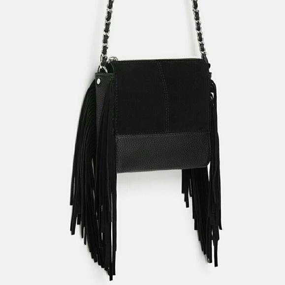 90d9749d913 Zara Bags | Leather Crossbody Bag | Poshmark